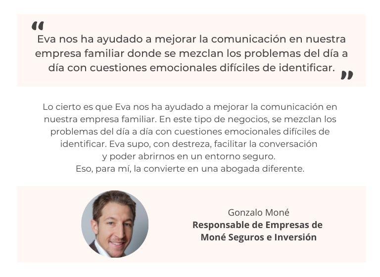 Testimonio Gonzalo Moné